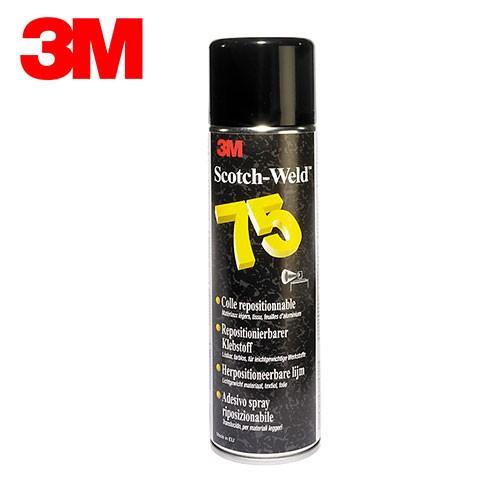 colle repositionnable en spray 3m scotch weld 75 aylia. Black Bedroom Furniture Sets. Home Design Ideas