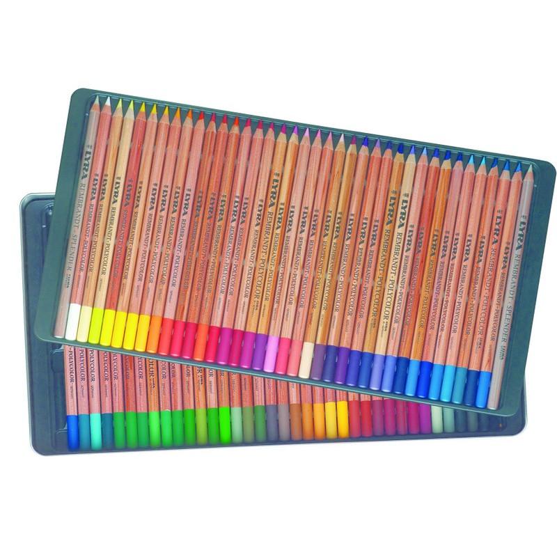 bo te de 72 crayons de couleur lyra rembrant polycolor aylia. Black Bedroom Furniture Sets. Home Design Ideas