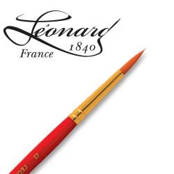 Pinceau Léonard fibre Similhair® orange Rond