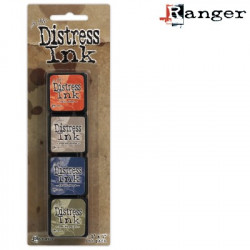 Set de 4 mini encreurs Distress Ink 'Ranger' N°5