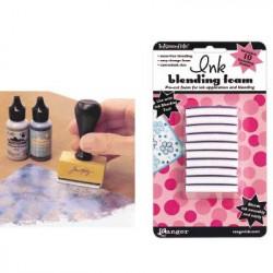 Recharges en mousse pour Tampon applicateur mousse Ink Blending Tool de Ranger (10 pcs)