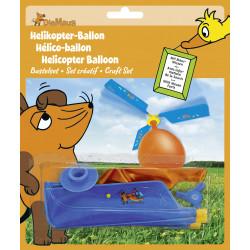 "Kit de bricolage hélicoptère ballon-kit ""Souris"" Heyda"