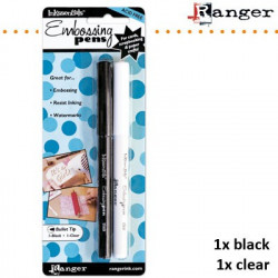 "Stylo à embosser ""Emboss it pen"" black & clear de chez Ranger"