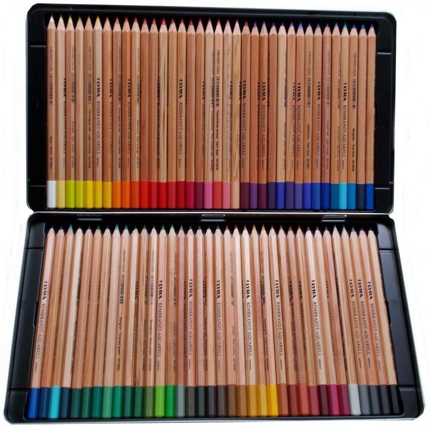 bo te de 72 crayons de couleur lyra rembrant aquarell aylia. Black Bedroom Furniture Sets. Home Design Ideas