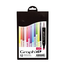 Set de 12 marqueurs Graph'It Classic