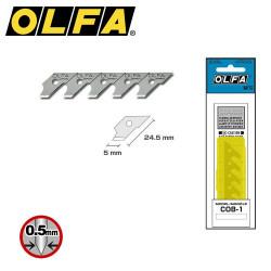 15 Lames de rechange OLFA COB-1