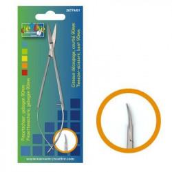 Ciseaux pincettes de précision courbé de Vaessen creative