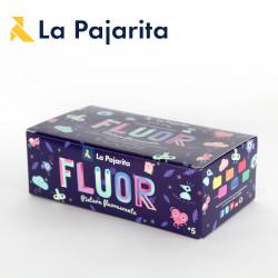 Kit Peinture acrylique Fluorescente de La Pajarita (6x35ml)