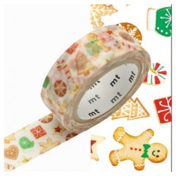 Masking Tape MT Motif Cookies / Christmas cookies (15 m x 7m)