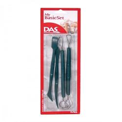 """Set de 4 spatules et mirettes """"my basicset"""" de DAS"""