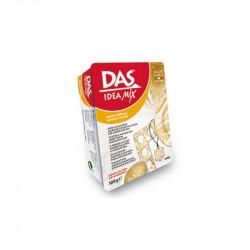 Pâte minérale à modeler séchant à l'air 'Das Idea Mix' Jaune Impérial 100g