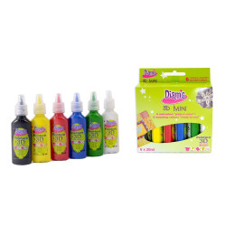 Kit peinture 3D Diam's - Total BASIC 20 ml x 6