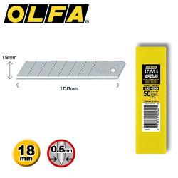 50 lames de rechange OLFA LB-50
