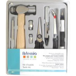 Kit d'outils pour travaux manuels (10 outils) d'Artemio