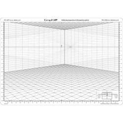 Grille de perspective modèle A de Graph'it