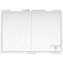 Grille de perspective modèle B de Graph'it