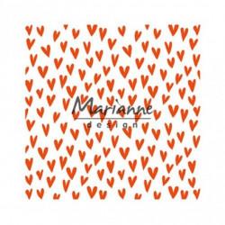 "Plaque d'embossage ""folder trendy hearts"" de Marianne Design"