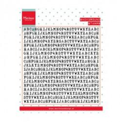 """Tampon transparent """"Background typewriter"""" de Marianne Design"""