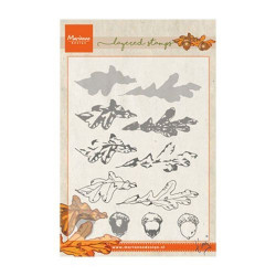 "Tampon transparent ""Tiny's autumn layering"" de Marianne Design"
