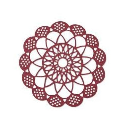 "Thinlits die ""antique doily"" de Sizzix"