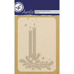 Plaque d'embossage Holy Candles Background d'Aurelie