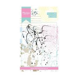 "Tampon transparent texture stamps ""splatters"" de Marianne Design"