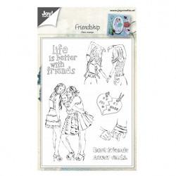 "Tampon transparent Friendschip"" de Joy!Crafts"