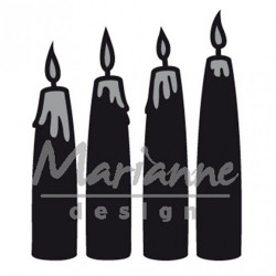 "Die Craftables ""advent candles"" de Marianne Design"