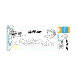 "Set de tampon transparent ""Hetty's polar ice"" de Marianne Design"