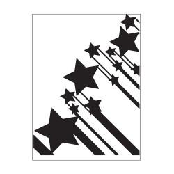 Plaque d'embossage stars de Darice