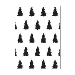 Plaque d'embossage evergreens de Darice