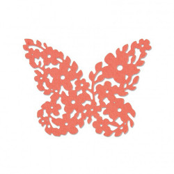 "Thinlits die ""floral butterfly"" de Sizzix"