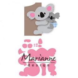 "Die Collectable ""Eline's koala & baby"" de Marianne Design"