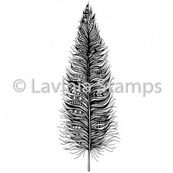 "Tampon transparent ""Feather"" de Lavinia Stamps"