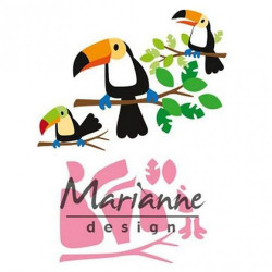 "Die Collectable ""Eline's toucan"" de Marianne Design"