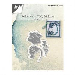 "Die ""Sketch Art - Twig & flower"" de Joy!Crafts"