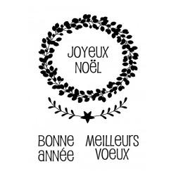 """Set de tampons transparents """"My Little Xmas - Joyeux Nöel"""" d'Artemio"""
