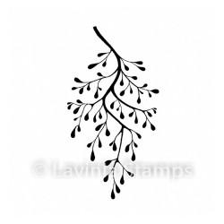 """Tampon transparent """"Snow Shrub"""" de Lavinia Stamps"""