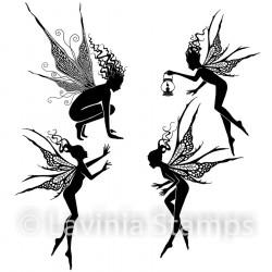"Tampon transparent ""Fairy Foragers"" de Lavinia Stamps"