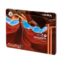 Boîte de 20 feutres LYRA Graduate Fineliner de Lyra