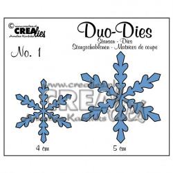 """Die Duo Dies """"no.1 flocons de neige 1"""" de Crealies"""