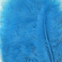 Plumes de Marabou turquoise...
