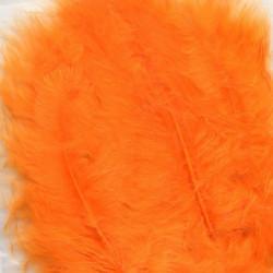 Plumes de Marabou orange...