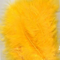 Plumes de Marabou jaune (15...