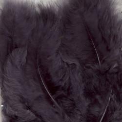Plumes de Marabou gray (15...