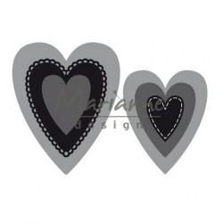 """Die Craftables """"hearts"""" de..."""