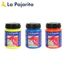 Peinture fluorescente La Pajarita 75ml