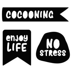 """Set de dies """"No stress""""..."""