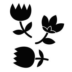 """Dies """"Lovely Swan - fleurs""""..."""