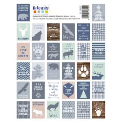 Set de 64 timbres pré...